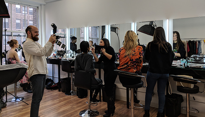 Studying Makeup In New York City Nina