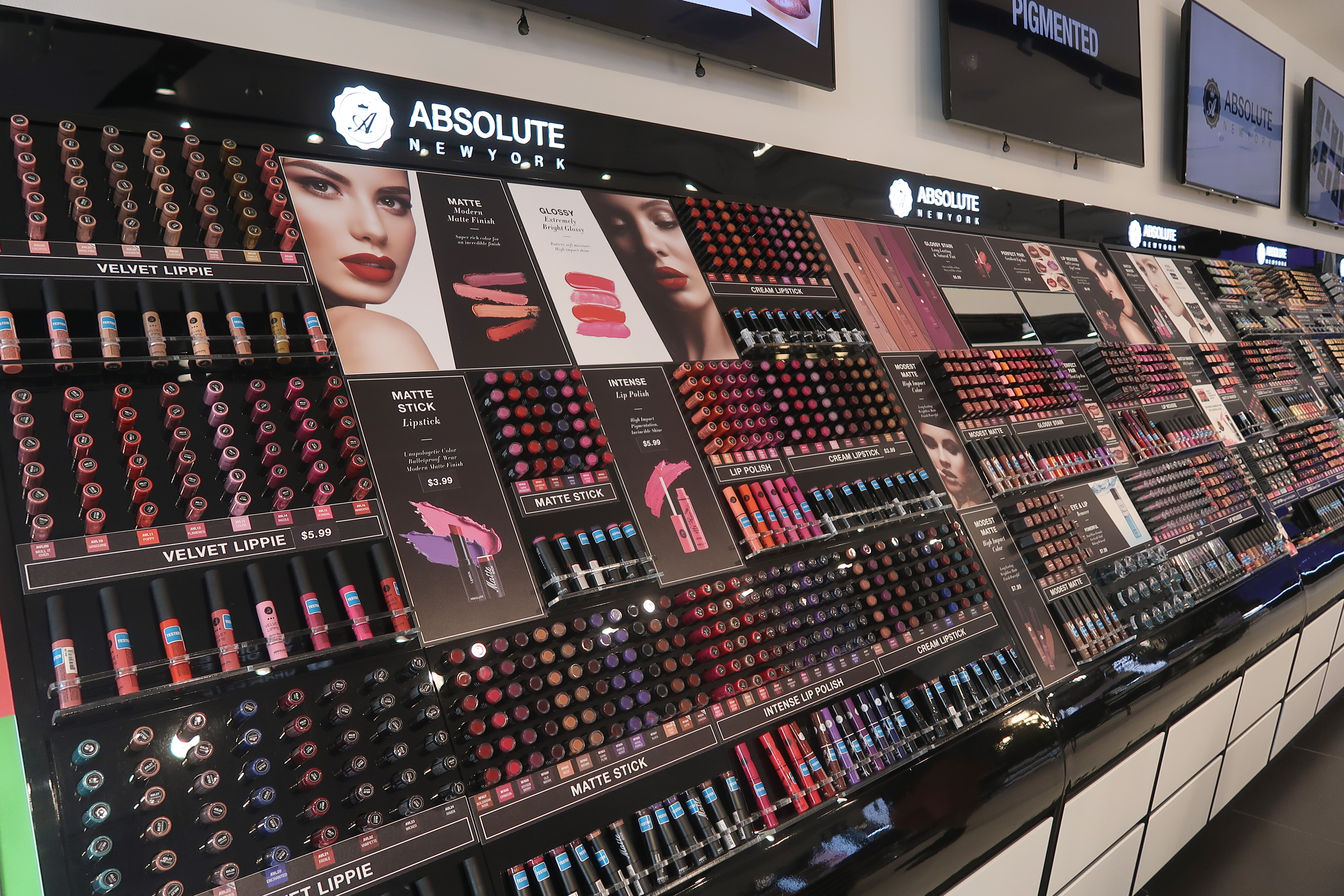 Maquiagem barata em Nova York  a loja da Absolute New York f10e3b2da6e