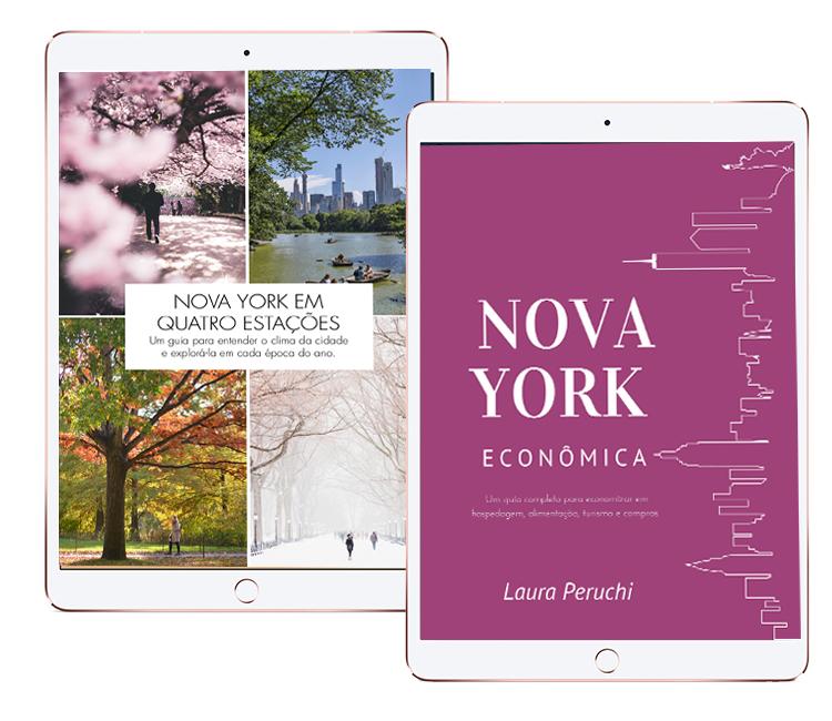 Combo E-books: Nova York Econômica + Nova York em Quatro Estações