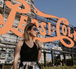 Letreiro da Pepsi em Nova York